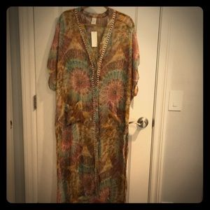 NWT L*SPACE Roxette Coverup